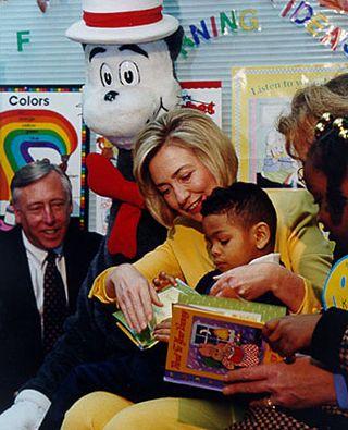 Hillary_reading